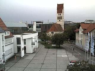Webcam in Vöhringen, Blick auf Hettstedter Platz